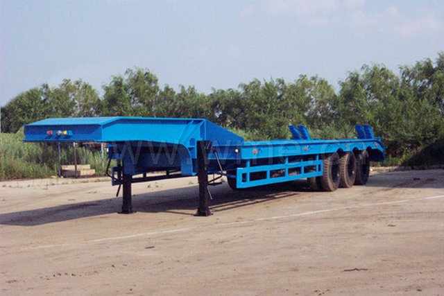 LowBedTrailer on semi tractor trailer weight