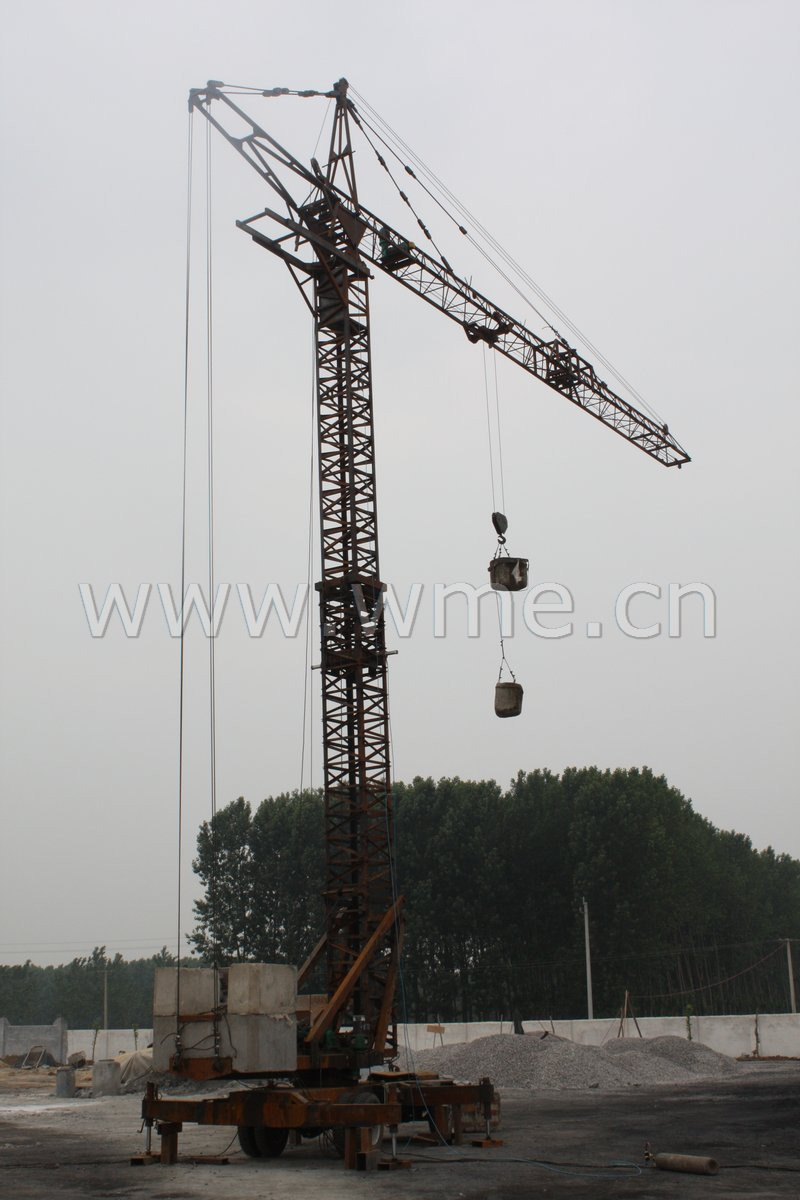 Mobile Tower Crane, China Mobile Tower Crane