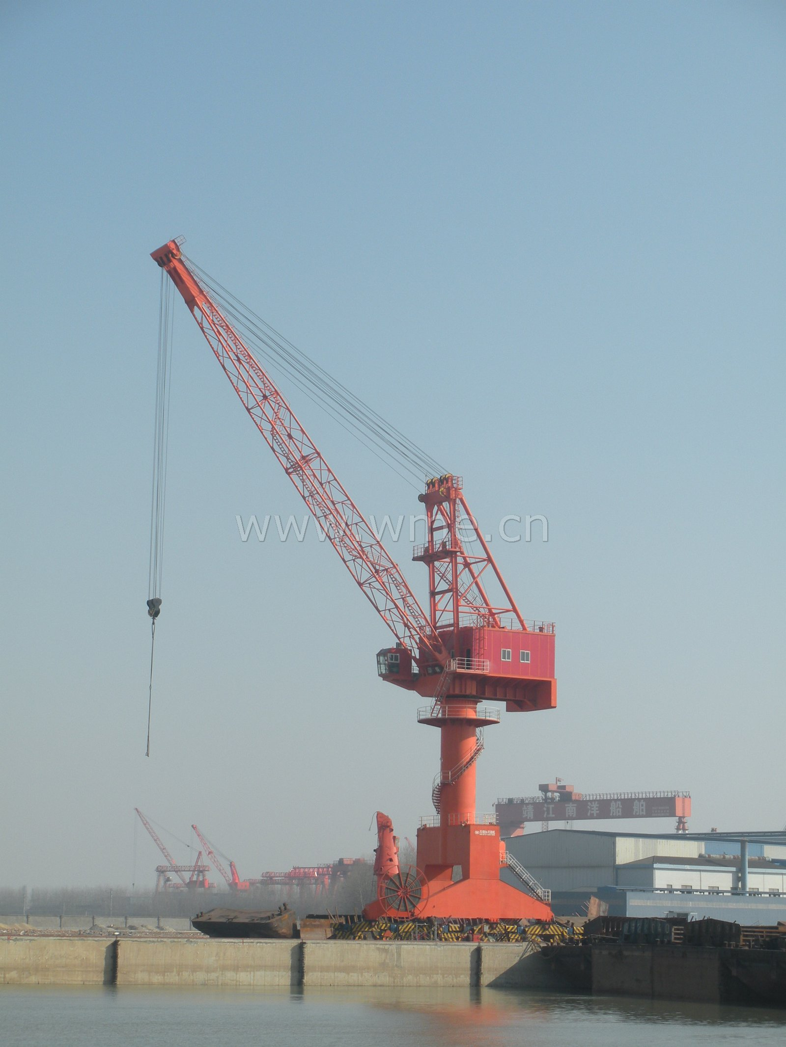 Portal crane china portal crane port crane harbor crane for The crain
