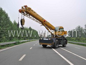 Rough Terrain Crane QRY30