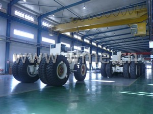 TEREX dump truck workshop