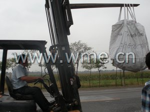 Tire Protection Chain in loading