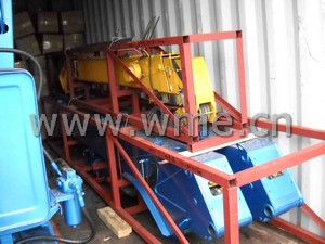 Truck Mounted Crane container shipment