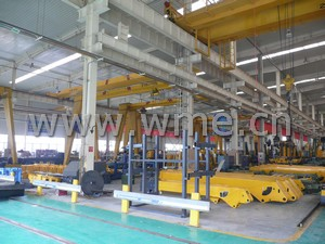 Truck Mounted Crane warehouse